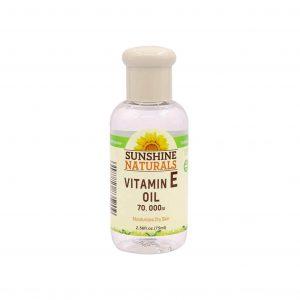 روغن طبیعی ویتامین E پوست خشک SUNSHIN